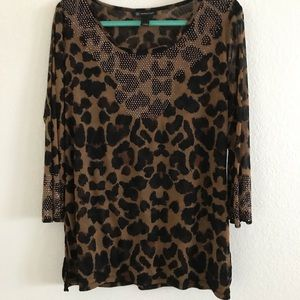 INC International Concept blouse SZ XL